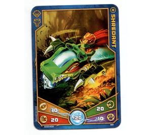 LEGO Legends of Chima Game Card 069 SHREDANT (12717)
