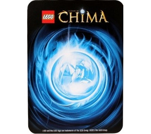 LEGO Legends of Chima Game Card 072 WORRIZ (12717)