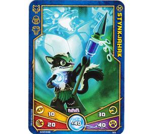 LEGO Legends of Chima Game Card 099 STYNKJAHAK (12717)