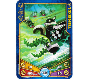 LEGO Legends of Chima Game Card 101 TOXISMELL (12717)