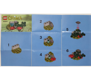 LEGO Legends of Chima Minifigure Accessory Set (850910) Instructions
