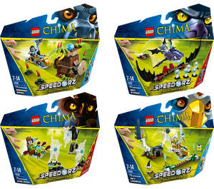 LEGO Legends of Chima Speedorz Collection Set 5003839
