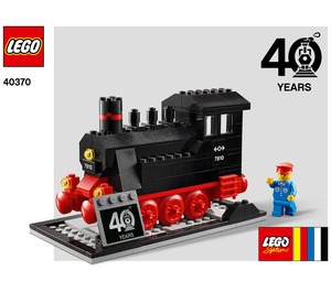 LEGO LEGO® Trains 40th Anniversary Set 40370 Instructions
