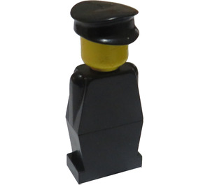 LEGO Legoland - Black Minifigure