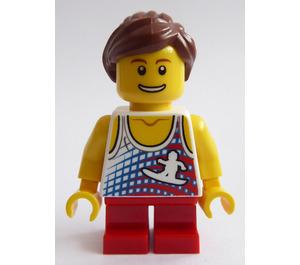 LEGO Legoland Train Child, Girl Minifigure