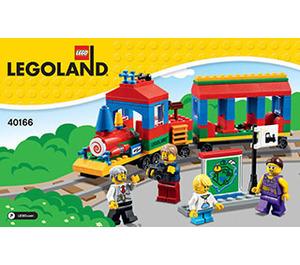 LEGO LEGOLAND Train Set 40166 Instructions