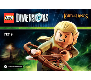 LEGO Legolas Fun Pack Set 71219 Instructions