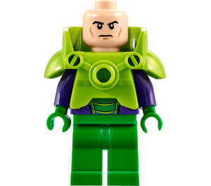 LEGO Lex Luthor Light Green Armor Minifigure