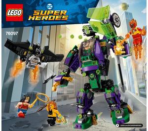 LEGO Lex Luthor Mech Takedown Set 76097 Instructions