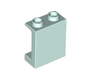 LEGO Light Aqua Panel 1 x 2 x 2 with Side Supports, Hollow Studs (87552)