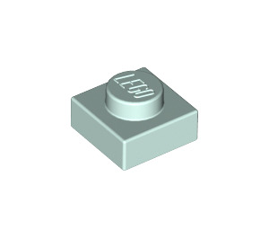 LEGO Light Aqua Plate 1 x 1 (3024)