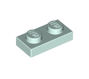 LEGO Light Aqua Plate 1 x 2 (3023)