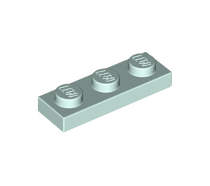 LEGO Light Aqua Plate 1 x 3 (3623)