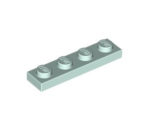 LEGO Light Aqua Plate 1 x 4 (3710)