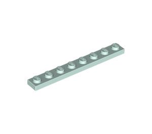 LEGO Light Aqua Plate 1 x 8 (3460)