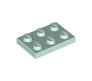 LEGO Light Aqua Plate 2 x 3 (3021)