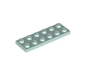 LEGO Light Aqua Plate 2 x 6 (3795)