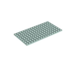 LEGO Light Aqua Plate 8 x 16 (92438)