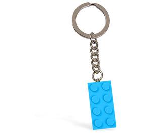 LEGO Light Blue Brick Key Chain (852274)