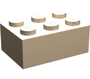 LEGO Light Flesh Brick 2 x 3 (3002)