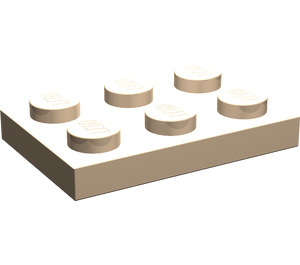 LEGO Light Flesh Plate 2 x 3 (3021)