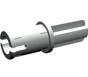 LEGO Light Gray Axle to Pin Connector with Friction