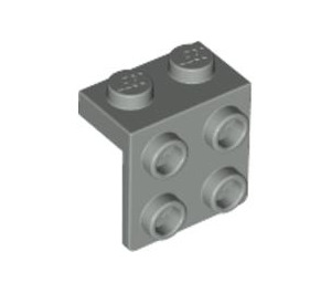 LEGO Light Gray Bracket 1 x 2 - 2 x 2 (44728)