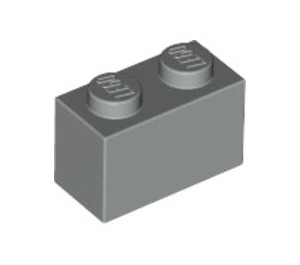 LEGO Light Gray Brick 1 x 2 (3004)