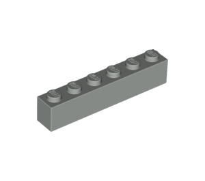 LEGO Light Gray Brick 1 x 6 (3009)