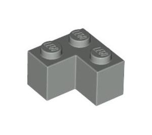 LEGO Light Gray Brick 2 x 2 Corner (2357)