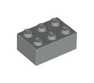 LEGO Light Gray Brick 2 x 3 (3002)