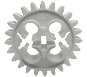 LEGO Light Gray Gear with 24 Teeth and Three Axleholes
