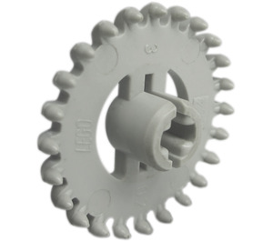 LEGO Light Gray Gear with 24 Teeth (Crown) without Reinforcements (3650)