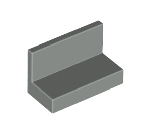LEGO Light Gray Panel 1 x 2 x 1 without Rounded Corners (4865)