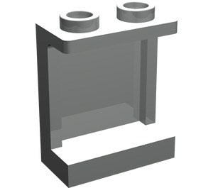LEGO Light Gray Panel 1 x 2 x 2 with Side Supports, Hollow Studs