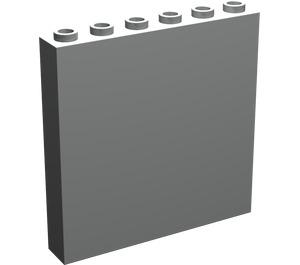 LEGO Light Gray Panel 1 x 6 x 5