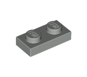 LEGO Light Gray Plate 1 x 2 (3023)