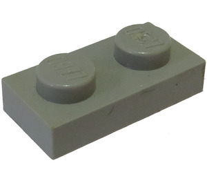 LEGO Light Gray Plate 1 x 2 (3023)