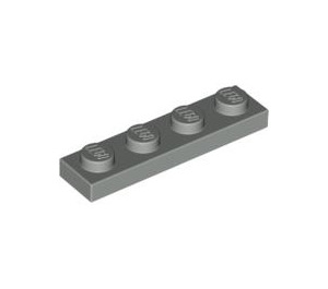 LEGO Light Gray Plate 1 x 4 (3710)