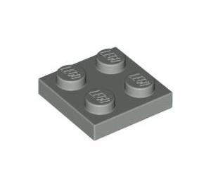 LEGO Light Gray Plate 2 x 2 (3022)