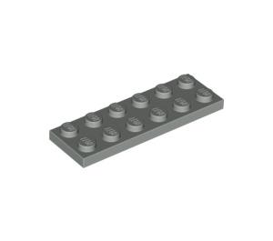 LEGO Light Gray Plate 2 x 6 (3795)