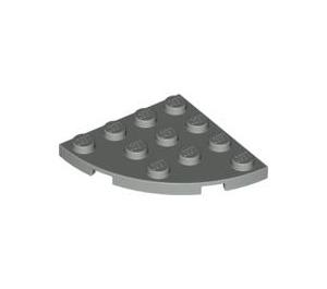 LEGO Gris clair assiette 4 x 4 Rond Coin (30565)