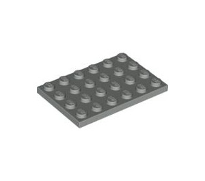 LEGO Light Gray Plate 4 x 6 (3032)