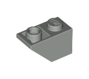 LEGO Light Gray Slope 1 x 2 (45°) Inverted (3665)