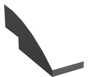LEGO Light Gray Slope 1 x 3 Curved