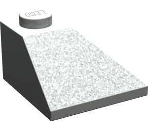 LEGO Light Gray Slope 45° 2 x 2 (3045)