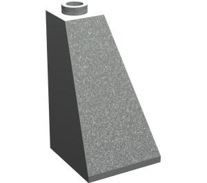 LEGO Light Gray Slope 73° (75) 2 x 2 x 3 Double Slope (3685)