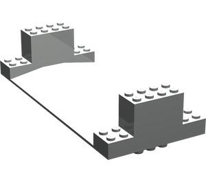 LEGO Light Gray Standard Road Bottom 8 x 18 x 3 (30399)