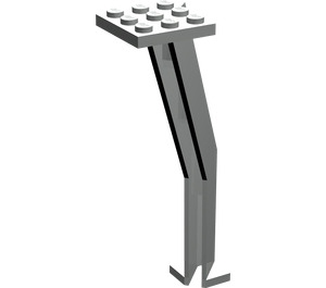 LEGO Light Gray Support Crane Stand Single (2641)
