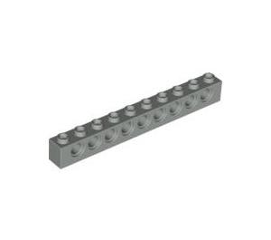 LEGO Light Gray Technic Brick 1 x 10 with Holes (2730)